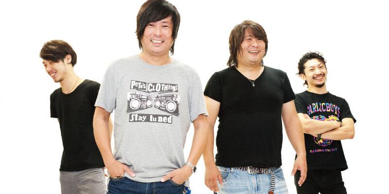 "GARLICBOYS ""再録ベスト""特集 INTERVIEW PETA&LARRY-PETA編"