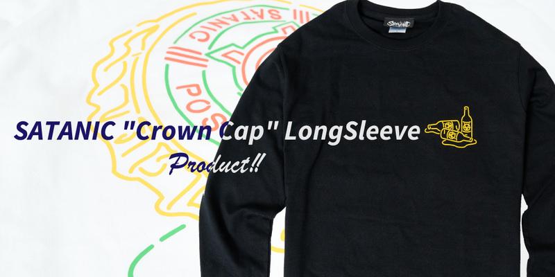 """SATANIC """"Crown Cap"""" LongSleeve INFO!!"""