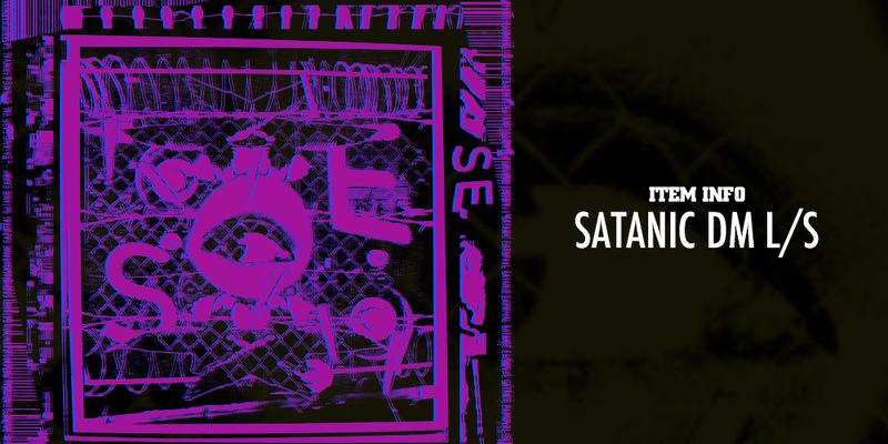 <SATANIC DM L/S> ITEM INFO!!