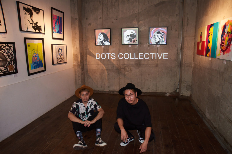 """CUTTING TIME Vol.05 """"DOTS COLLECTIVE 3rd Exhibition [FROM THE NODE BASEMENT]"""""""
